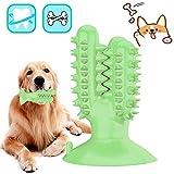 Cepillo De Dientes para Perros,Cepillos de Dientes Caninos,Limpiador de Dientes de Perro,Juguetes para Masticar Dental para Perros Limpieza-Perro Cuidado bucal Dental(Verde)