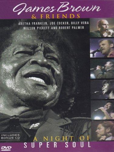 James Brown & Friends - A Night of Super Soul (+ Audio-CD)