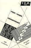 Correspondance Frege-Husserl