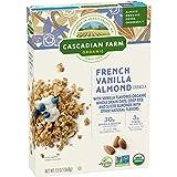 Cascadian Farm Organic Granola Cereal - French Vanilla Almond - 13 OZ