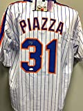 Mike Piazza New York Mets Signed Autograph Custom Jersey JSA Certified