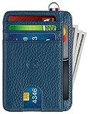Best RFID Wallets - Slim Minimalist Wallet for Men & Women Leather Review