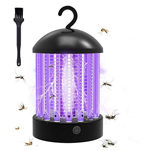 Lámpara Antimosquitos Electrico,luz UV Lámpara Repelente Zapper de Mosquitos Mosca, 2 en...
