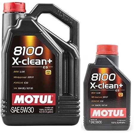 Motorenöle Motul 8100 X Clean 5w30 6 Liter 1x5 Lt 1x1 Lt Auto