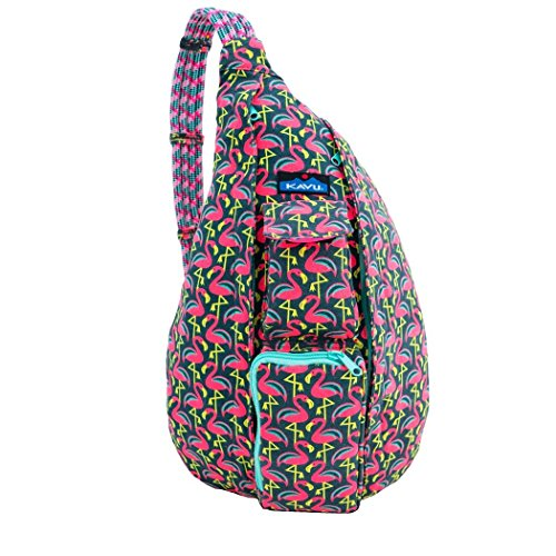 KAVU Rope Bag, Pink Flamingo, One Size