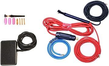 NOVA Tig Kit Accessory Kit compatible with Everlast PowerTIG 250EX