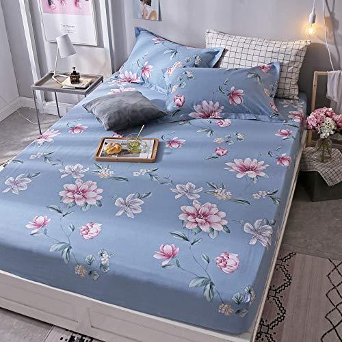 huyiming Gebruikt voor Katoen twill bedrukt vel materiaal 1.8m bed cover Simmons matras anti-slip beschermhoes