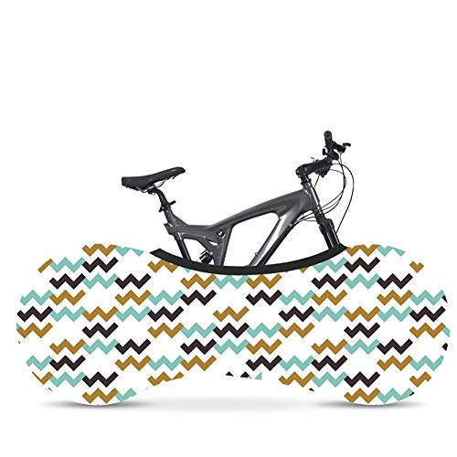 LYZL Bike Covers Bicycle Bike Storage Wheel Cover Indoor Storage Bag Scratch-Proof for Mountain, Road, MTB Bikes,Colour A,FOR 26~28INCH