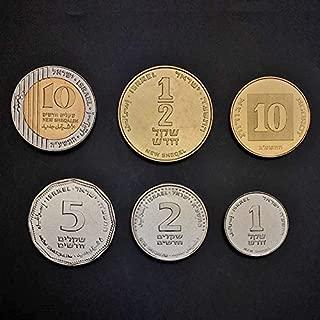 israeli new sheqel 1 coin