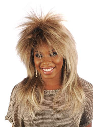 Tina Turner Wig Character Theatrical Costume Wig 1980's