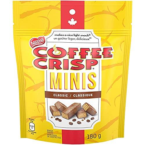 COFFEE CRISP NESTLÉ Minis, 180g Bag