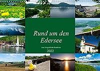 Rund um den Edersee (Wandkalender 2022 DIN A3 quer): Eine fotografische Reise rund um den Edersee bei Waldeck. (Monatskalender, 14 Seiten )