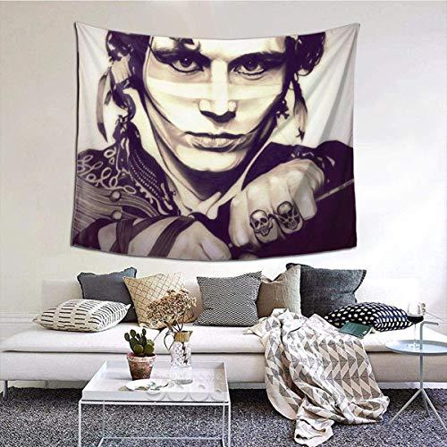 YeeATZ Adam and The Ants - Tapiz de colores para pared del hogar, decoración para el salón, sala de estar, dormitorio de Dormitory Beautifully Decorated Gift Tapestry. 59,1 x 51,2 pulgadas