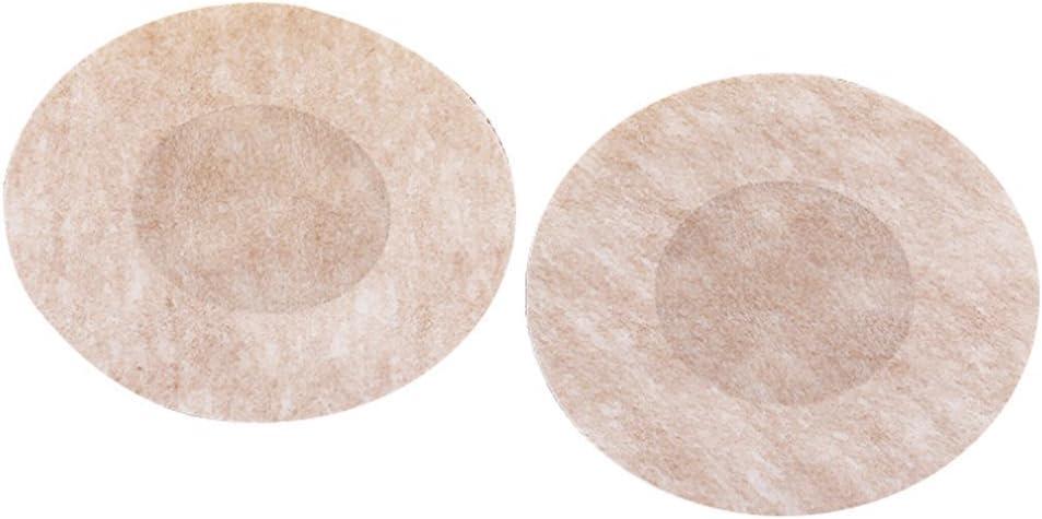 10 pares color carne autoadhesivas, no tejidas dise/ño de sujetador invisible Almohadillas para pez/ón desechables Haifly