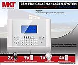 Multi Kon Trade GSM Funk Alarmanlage Set-4 M2C (Bestseller, LCD Display, Alarm...