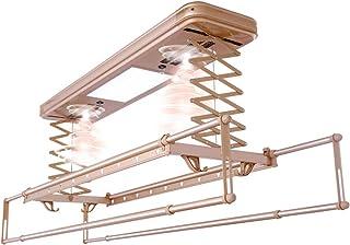 Supports De SéChage éLectriques Balcon Levage Machine à Laver TéLescopique Automatique à Quatre Barres Intelligent TéLéCom...