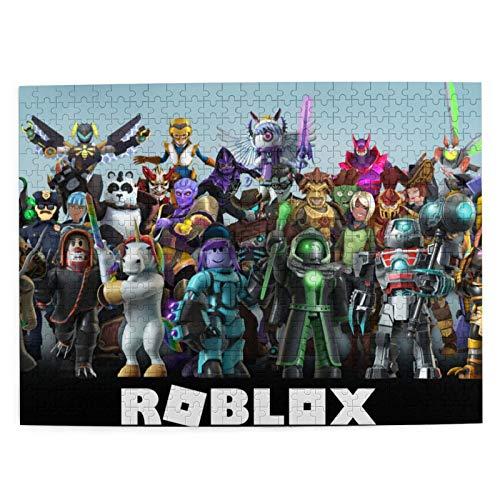 Eyliy Rompecabezas R-oblox para adultos y niños, 500 piezas, pequeño juego de rompecabezas, regalo