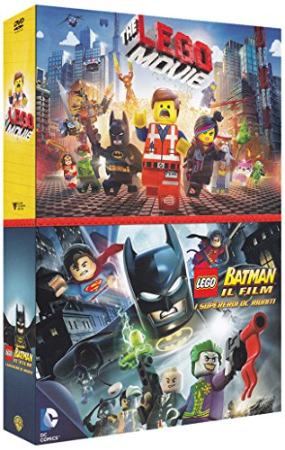 The Lego movie + Lego-Batman the movie [2 DVDs] [IT Import]