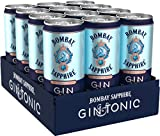 Bombay Sapphire Gin & Tonic ready to Drink Dose, 12er Pack (12 x 250 ml)