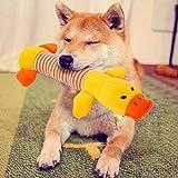 Juguete de peluche para cachorro, juguete para mascotas, cachorro, felpa, sonido masticable, juguete de pato, color amarillo, suministros creativos y útiles