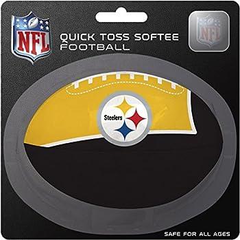 NFL Pittsburgh Steelers Kids Quick Toss Softee Football Black Small