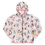 Disney Princess Zip Hoodie for Girls, Size 7/8