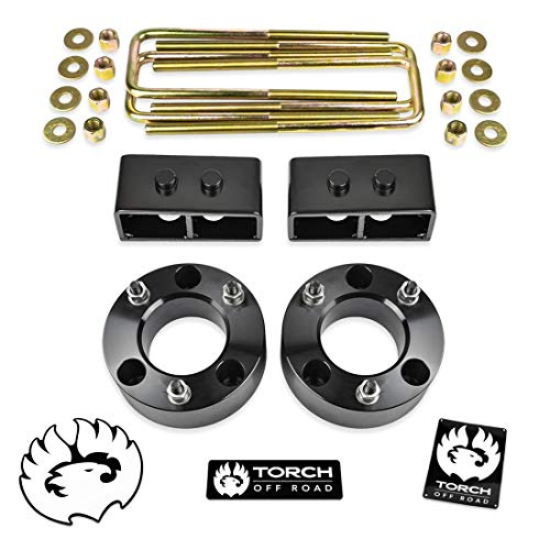 TORCH 3' Leveling Lift Kit For 2004-2014 Ford F150 F-150 4WD 2WD 2' Rear Tapered...