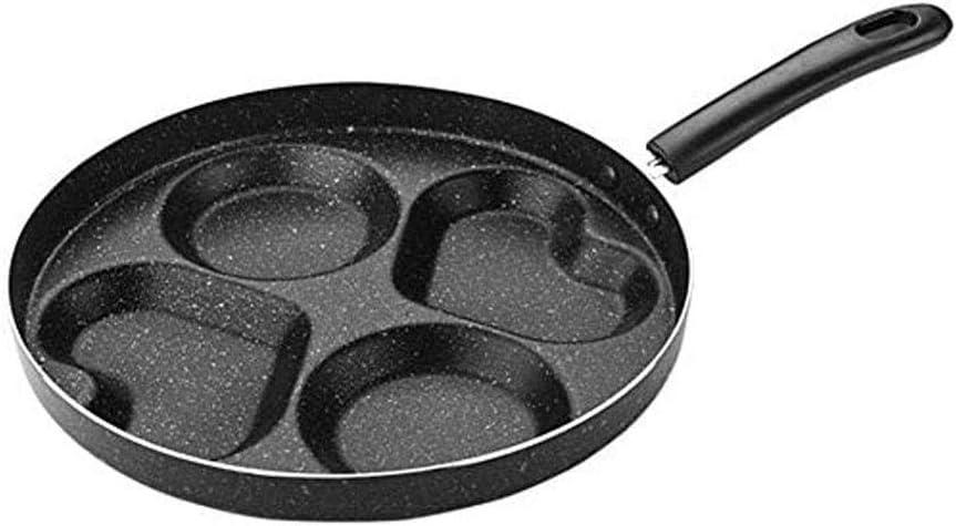 ZZWZM Nippon regular agency Modern sale Pan - 4-hole w Pancake Aluminum Machine Frying