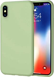 Matte Plastic Flexible Protection Cover, Smooth, Soft TPU Case for Apple iPhone X/iPhone Xs/iPhone X Max/iPhone Xs Max/iPh...