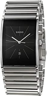 Integral XL Black Dial Date Quartz Ceramos & Steel Mens Watch R20861159