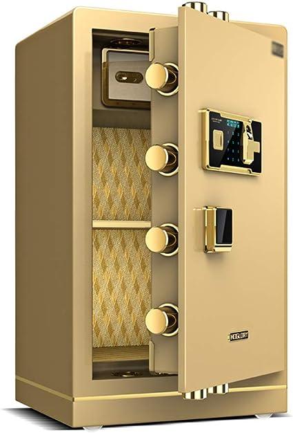Cajas fuertes Caja fuerte electr/ónica for el hogar con caja mediana 80 cm grande for huellas dactilares caja fuerte for oficina gabinete invisible for huellas dactilares