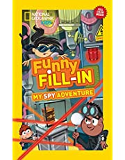 My Spy Adventure (National Geographic Kids Funny Fill-In) [Idioma Inglés]