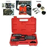 01 Kit expansor de Tubo de Escape de Acero para automóvil multipropósito, expansor de Tubo para automóvil, Elimina abolladuras para Ampliar la Longitud de la tubería