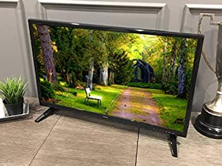 """Free Signal TV Transit 32"""" 12 Volt DC Powered LED Flat Screen HDTV for RV Camper and Mobile Use"""