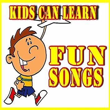 Kids Can Learn Fun Songs