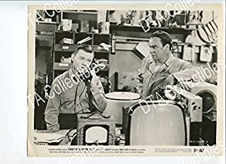 MOVIE PHOTO: CORKY OF GASOLINE ALLEY 8x10 PROMO STILL-VG-1951-OLD TV-COMIC STRIP-TELEPHONE VG