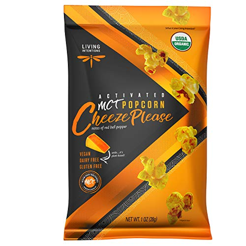 Amazing Deal Living Intentions MCT Superfood Popcorn, Cheeze Please - 1 ounce