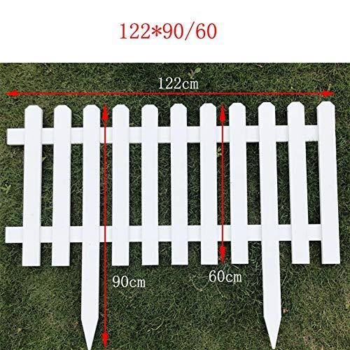WXQ Garten Fechten Screening Außendekoration Wasserdicht Imprägnieranlage Boundary Weiß, 8...
