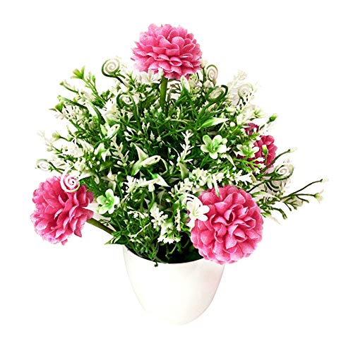 Great Deal! Afco Home Decor Artificial Flower Bonsai Garden DIY Wedding Party Arrangement Desktop De...