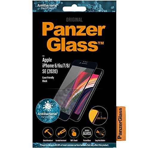 PanzerGlass E2E iPhone 6/6s/7/8/SE 2020 CF Antibakteriell blac - Passend für iPhone 6, iPhone 6s, iPhone 7, iPhone SE (2020), iPhone8