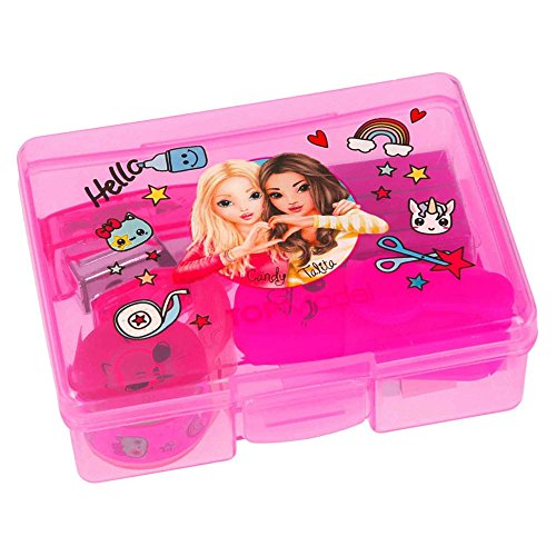 Depesche 8551_A1 Top Model Kleine Box, Rosa/Lila