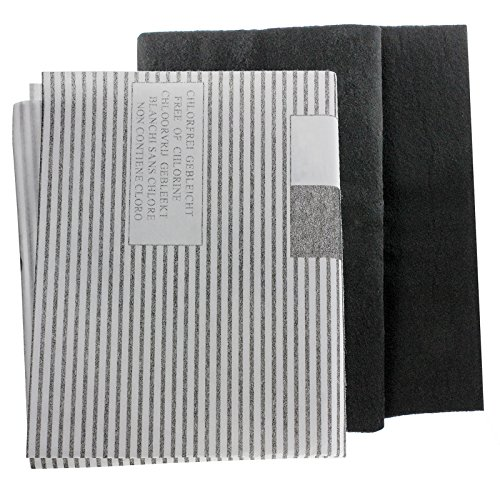 SPARES2GO grote afzuigkap vetfilters voor commerciële ventilatie afzuigkap ventilatoren (2 x filter, op maat gesneden - 100 cm x 47 cm)