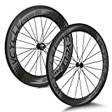 VCYCLE Nopea 700C Road Bike Carbon Wheelset Clincher Front 60mm Rear 88mm 8/9/10/11 Speed
