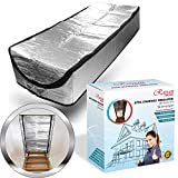 """Attic Stairs Insulation Cover 25"""" x 54"""" x 11"""" - Attic Ladder Tent"""
