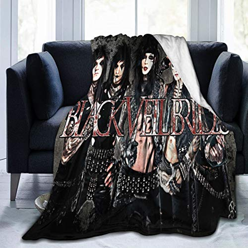 Black Veil Brides Winter Ultra Soft Micro Fleece Blanket Fashion Lightweight Blanket for Sofa and Bed