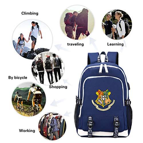 Comtervi-Harry-Potter-Hogwarts-Design-Backpack-Daypacks-Laptop-Bag-School-Backpack-Unisex-Boys-Camping-Outdoor-Backpack-with-USB-Charging-Port