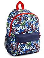 MARVEL AVENGERS BACKPACK --- The ultimate gift for Marvel Avengers fans! This superhero school bag is perfect for all little comics fans from junior school, teenagers and Adults. Our marvel backpack displays your child's favourite superheroes includi...