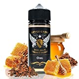 Eliquid king crest - don juan tabaco dulce - eliquid para cigarrillo electronico - sin nicotina (100ml)