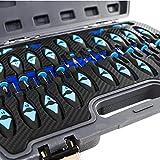 23-tlg Auspinwerkzeug Entriegelungswerkzeug ISO Stecker I kompatibel für gängige Automarken