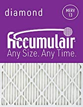 Accumulair FD24X30_6 Diamond MERV 13 Air Filter/Furnace Filters, 23.5